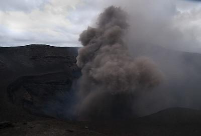 Mt Yasur eruption
