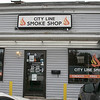 City Line Smoke Shop Store Manager Freeman Palmer V talks about how the vaping ban has affected their store in Lunenburg on the Fitchburg line. SENTINEL & ENTERPRISE/JOHN LOVE