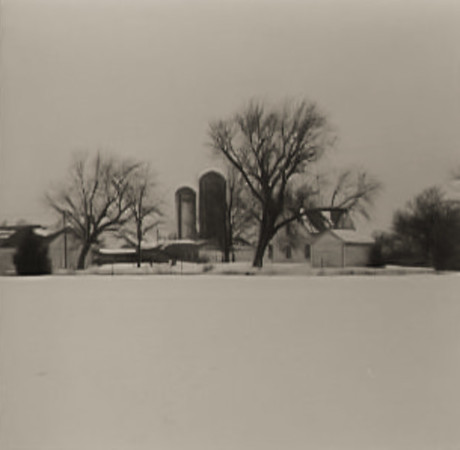 Home Place, River Ridge Farm, Ollie IA (January 1969)