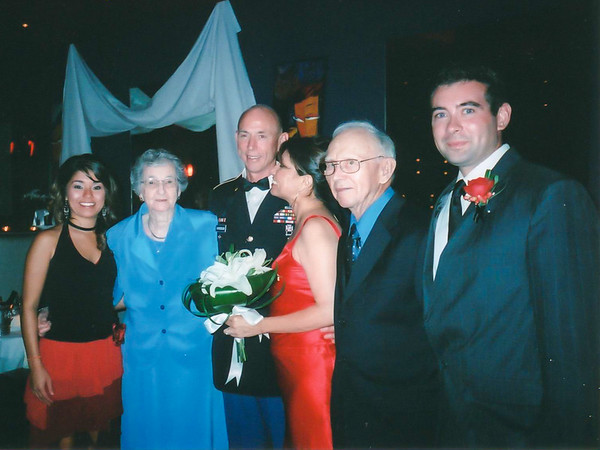 Beatrice and Verne's Wedding Day, Johnston IA (27 August 2004)