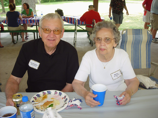 Uncle Lee and Marion, Jester Park, (1 July 2006)