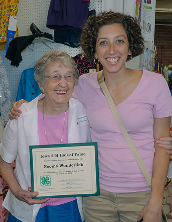 Iowa 4-H Hall of Fame, Des Moines IA (August 2010)