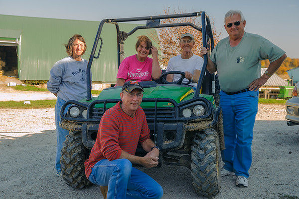 HPC Visits Dairy Farm, Waterville IA (October 2011)