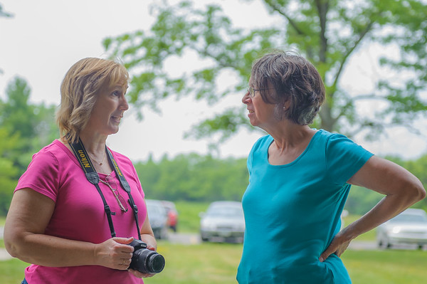 Teri (Lee) and Lucinda (Charles), Centerville IA (16 June 2012)