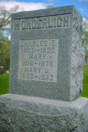 Bretheren Cemetery, Ollie IA (May 2013)