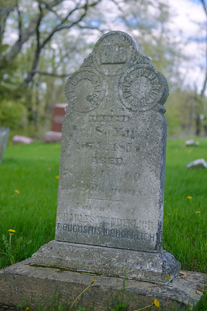 Great Great Great Grandpa Wonderlich, Bretheren Cemetery, Ollie IA (May 2013)