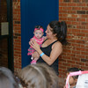 Birthday Party, Coral & Amber, 4 Months Old, Lubbock TX (May 2013)