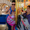 Coral's 1st Merry-Go-Round Ride, McCormick Stillman Railroad Park Phoenix AZ (January 2014)