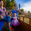 Coral's 1st Train Ride, McCormick Stillman Railroad Park Phoenix AZ (January 2014)