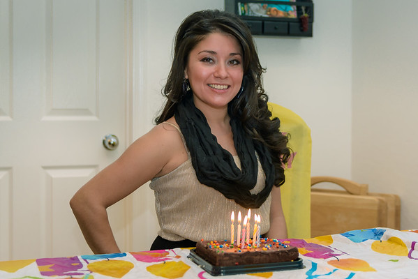 Amber Celebrates Her Birthday, San Tan Valley AZ (24 January 2015)