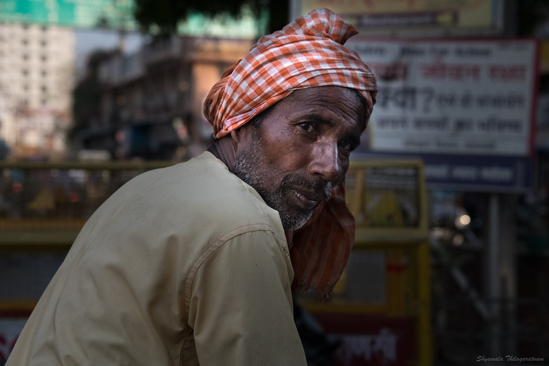 On the streets of Varanasi