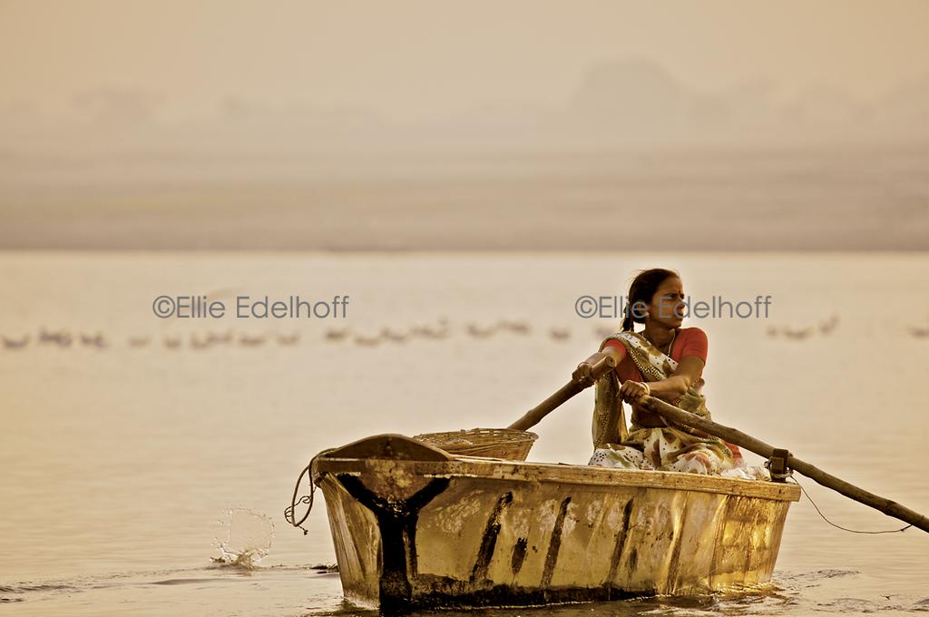 Daybreak on the Ganges - Varanasi