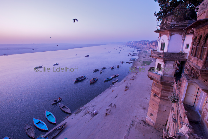 A Room with a View - Varanasi, India