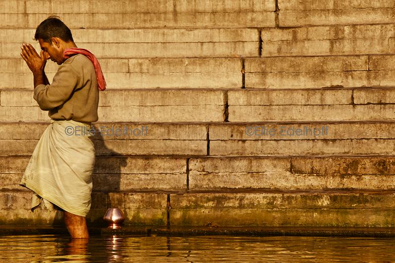 Surya Namaskar - Varanasi, India