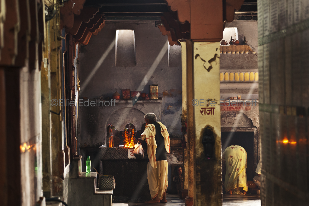 Kedarnath's Temple Light - Varanasi, India