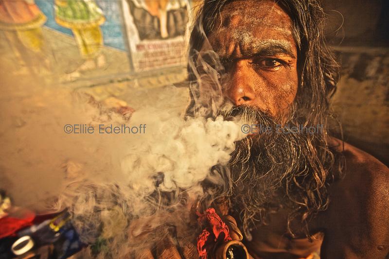 Bhang Smoke - Varanasi, India