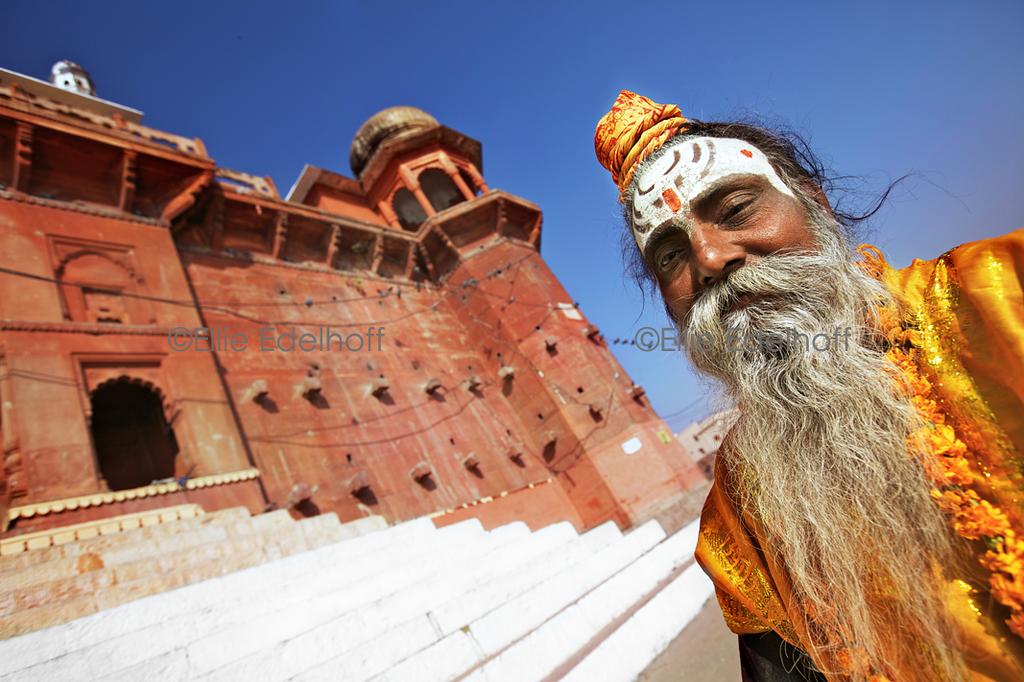 Sadhu at Chet Singh Ghat I - Varanasi, India