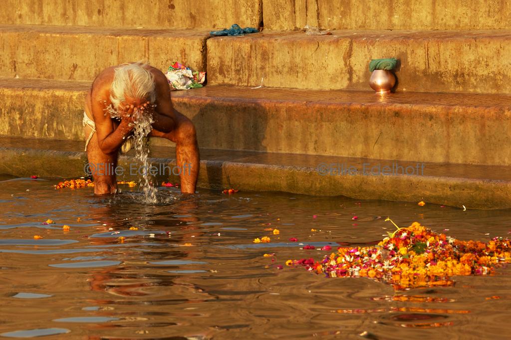 Bathing in the Divine - Varanasi, India