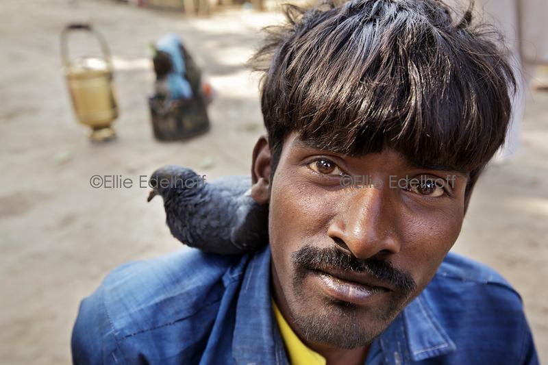 Two Devotees - Varanasi, India