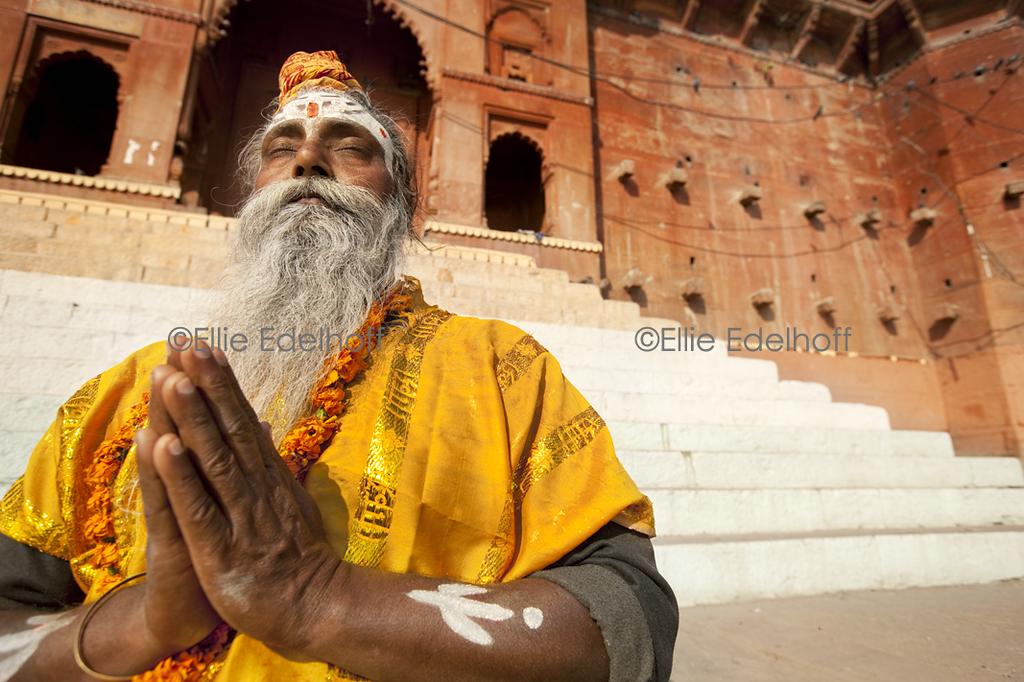 Sadhu at Chet Singh Ghat II - Varanasi, India