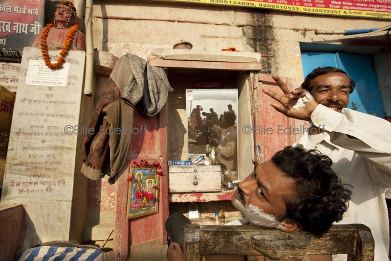 Ganga Shave - Varanasi, India