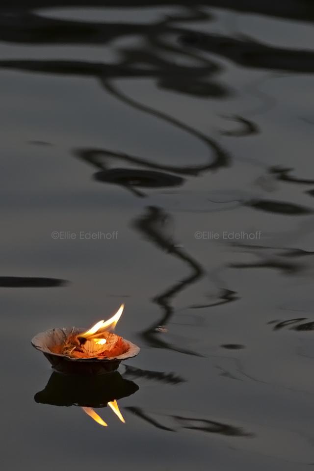 Twin Flames at Twilight - Varanasi, India