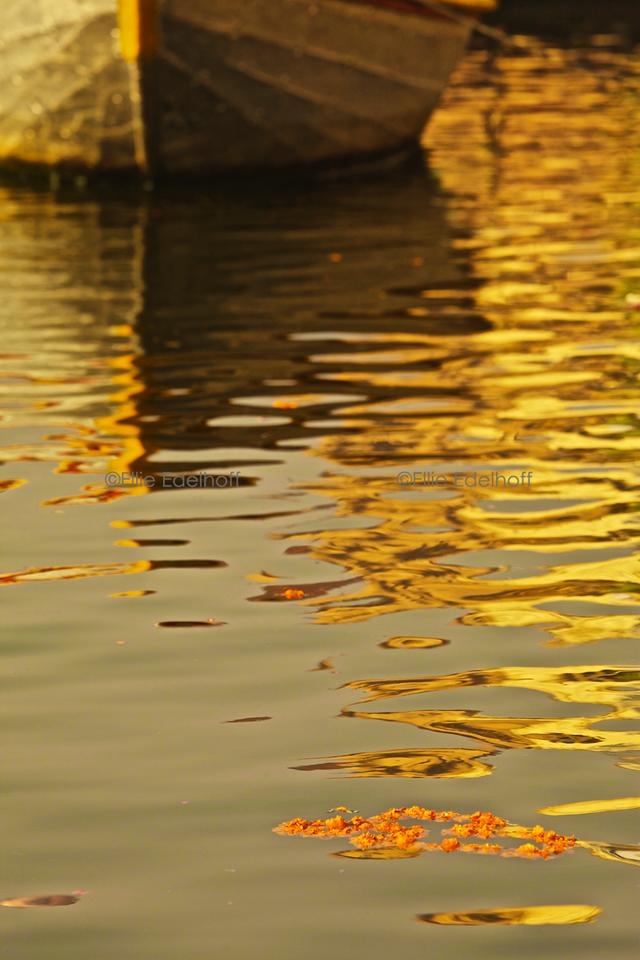 Morning Reflections - Varanasi, India