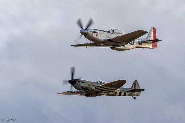 P-51 Mustang & Spitfire