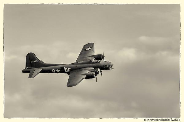 B-17 Flying Fortress Sally B