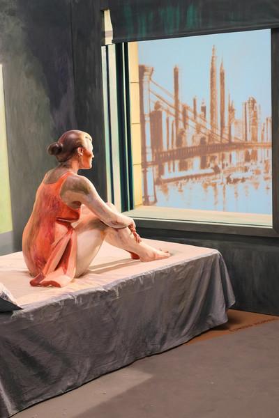 """Variations on Hopper's """"Morning sun"""" (IV)"""