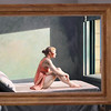 "Variations on Hopper's ""Morning sun"" (I)"