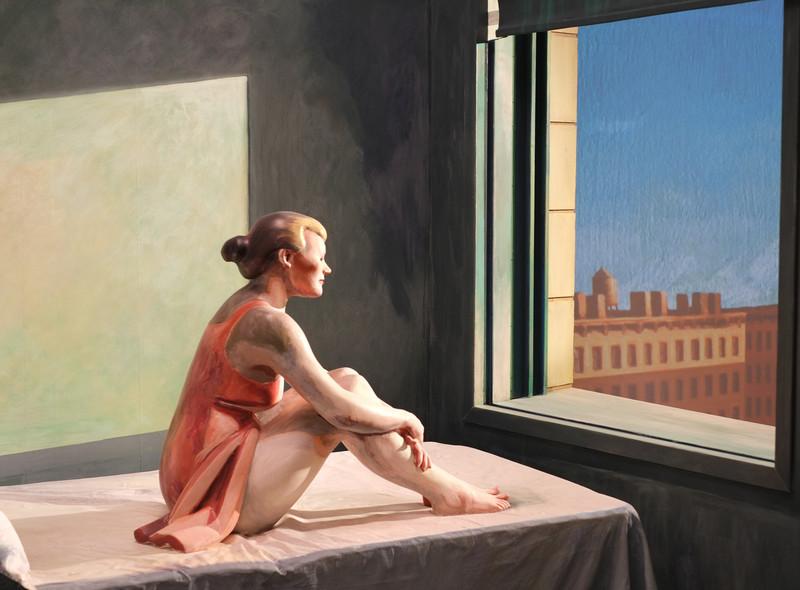"""Variations on Hopper's """"Morning sun"""" (II)"""