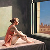 "Variations on Hopper's ""Morning sun"" (II)"