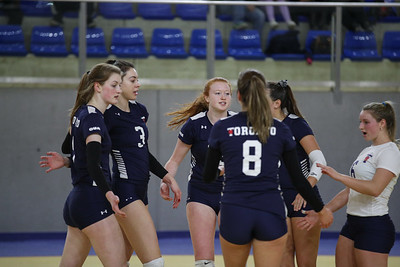 Futura Volley Giovani 5 -Toronto Varsity Blues 0 Busto Arsizio (VA) - 29 dicembre 2018