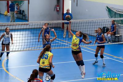 Volley Stars 2017 U16f: Alassio - Cermenate  0-2 Cagno (CO) - Sabato 9 settembre 2017