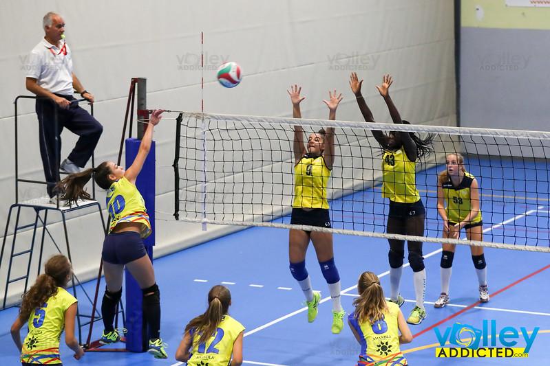 Volley Stars 2017 U16f: Cermenate - Induno  0-2 Cagno (CO) - Domenica 10 settembre 2017
