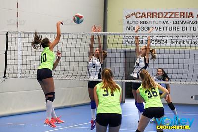 Volley Stars 2017 U16f: Cermenate - Intercomunale  1-2 Cagno (CO) - Sabato 9 settembre 2017