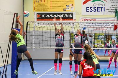Volley Stars 2017 Finale 3/4 posto U16f: Cermenate - Longone  2-0 Cagno (CO) - Domenica 10 settembre 2017
