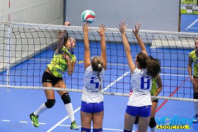Volley Stars 2017 U18f: Cermenate - Morbio  2-0 Cagno (CO) - Domenica 10 settembre 2017
