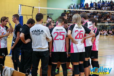 Volley Stars 2017 Finale 1/2 posto U18m: Yaka Volley - Diavoli Rosa  2-1 Malnate (VA) - Domenica 10 settembre 2017