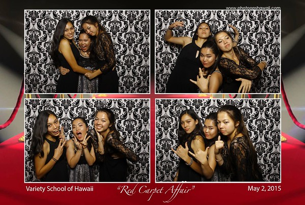 Variety School of Hawaii Prom (Fusion Photo Booth)