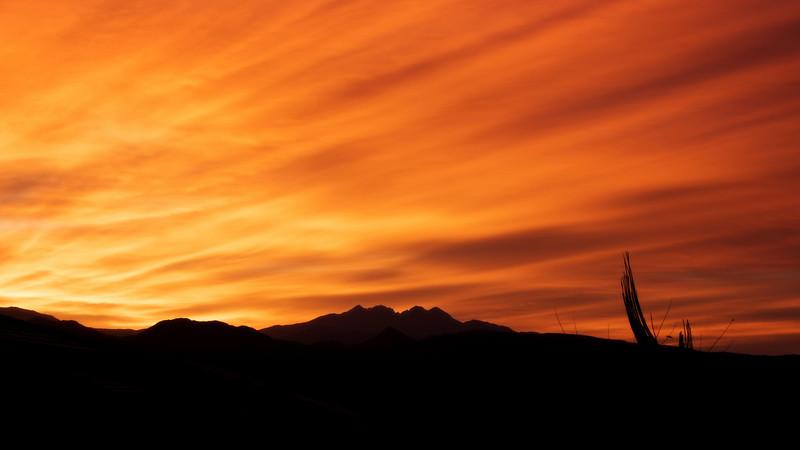 A Sky on Fire