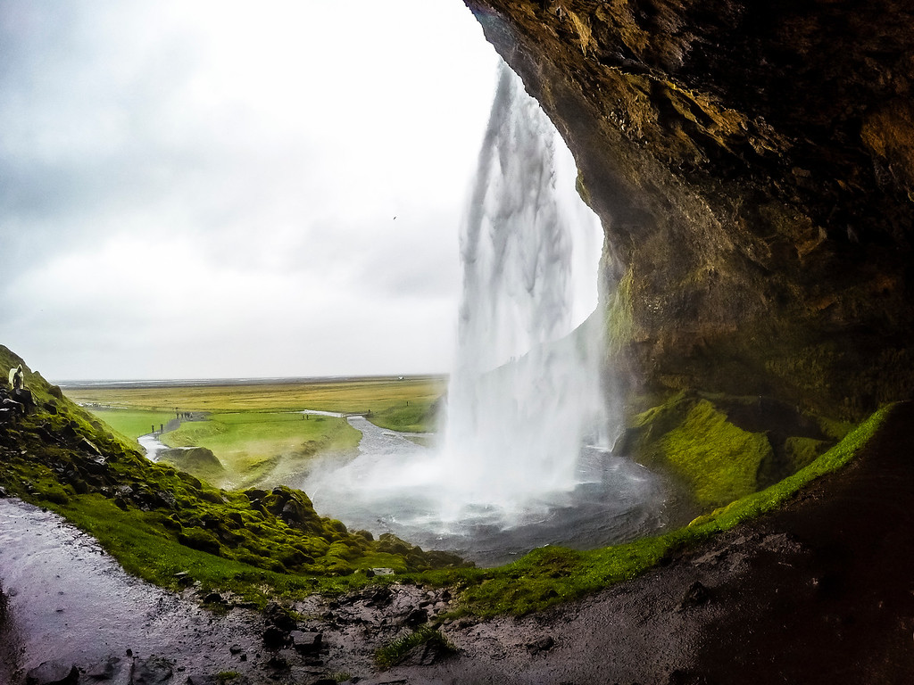 The Other Side of Seljalandsfoss