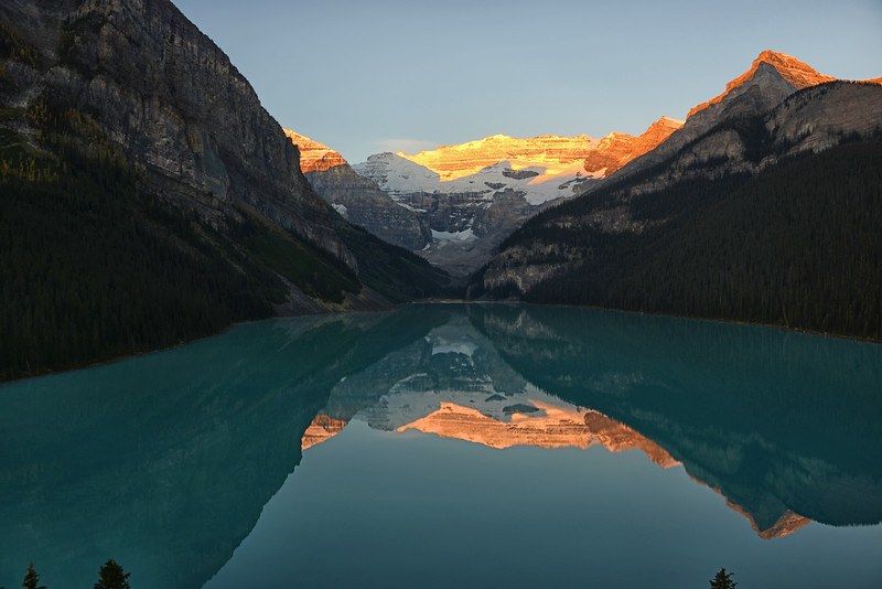 Lake Louise Sunrise