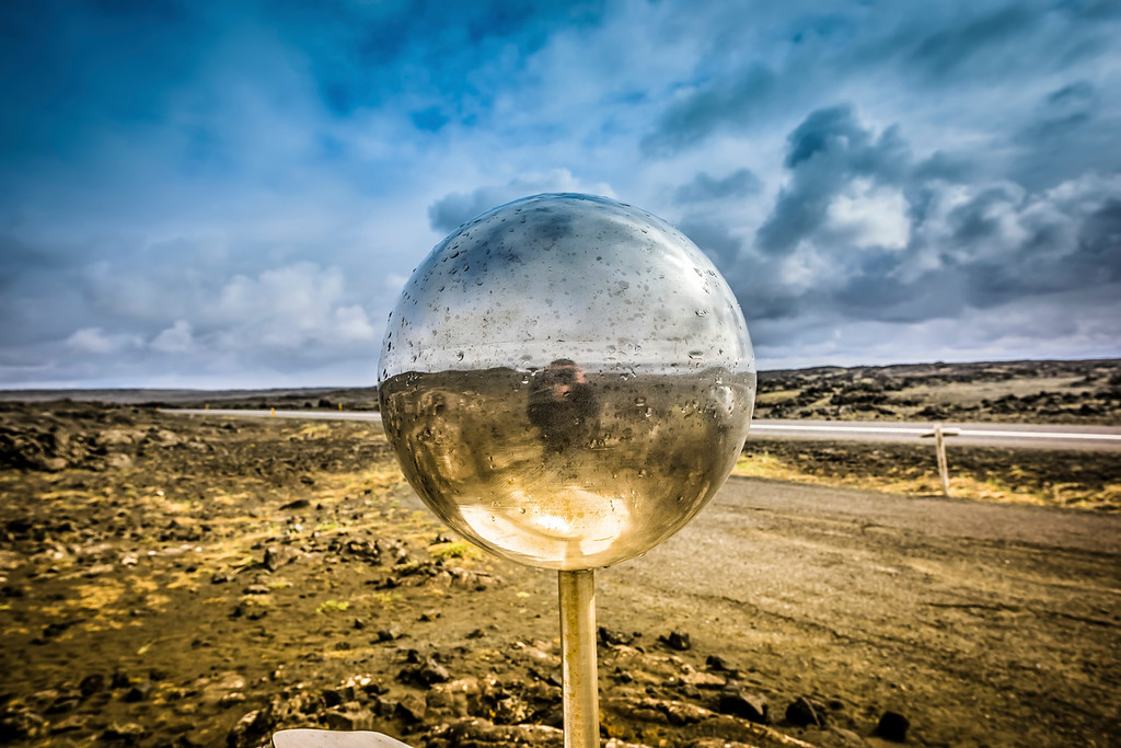 Mysterious Ball in Iceland