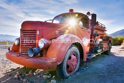 Sun Ray Fire Truck