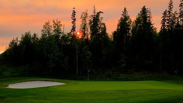Smokey Sunset on Six