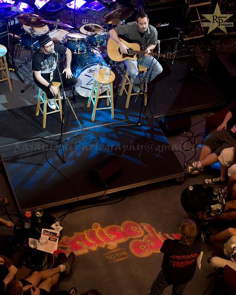 Simon Collins and Matt Dorsey with Jon Kirkman