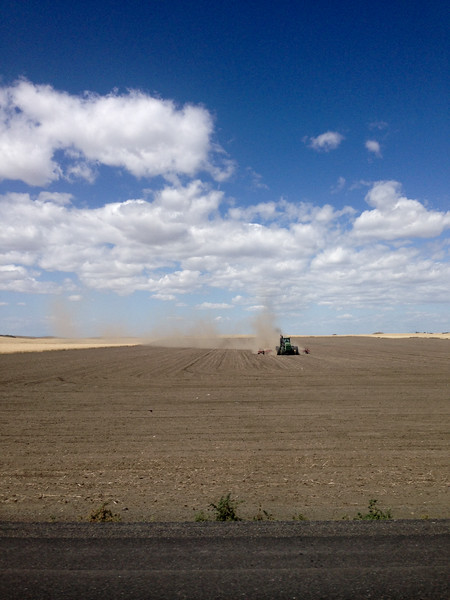 Grant County, WA Farming Tractor