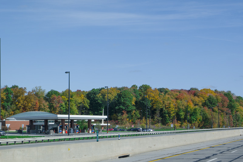 Fall Ohio Turnpike Travel Plaza